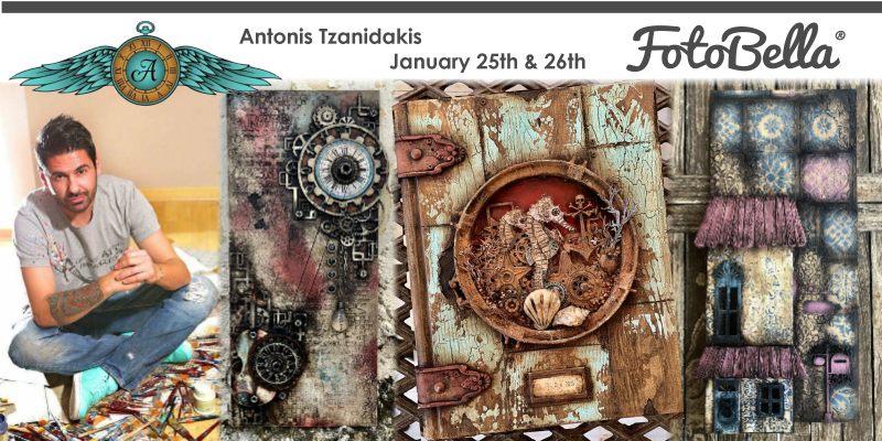 Antonis Tzanidakis at FotoBella