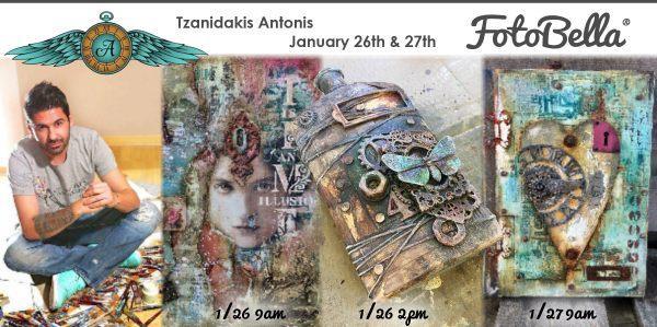 Tzanidakis Antonis comes to Phoenix