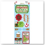13002301MISTLETOE CHRISTMAS CHEER Cardstock Sticker