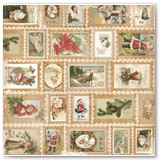 16601469 Christmas Collage Stamps Front