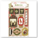 16609474 CHRISTMAS COLLAGE_LAYERED CHIPBOARD