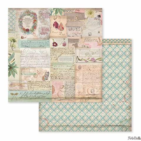 "Stamperia Spring Botanic 1x Dbl-Sided Cardstock 12x12/"" Scrappapier Cards 30,5 cm"