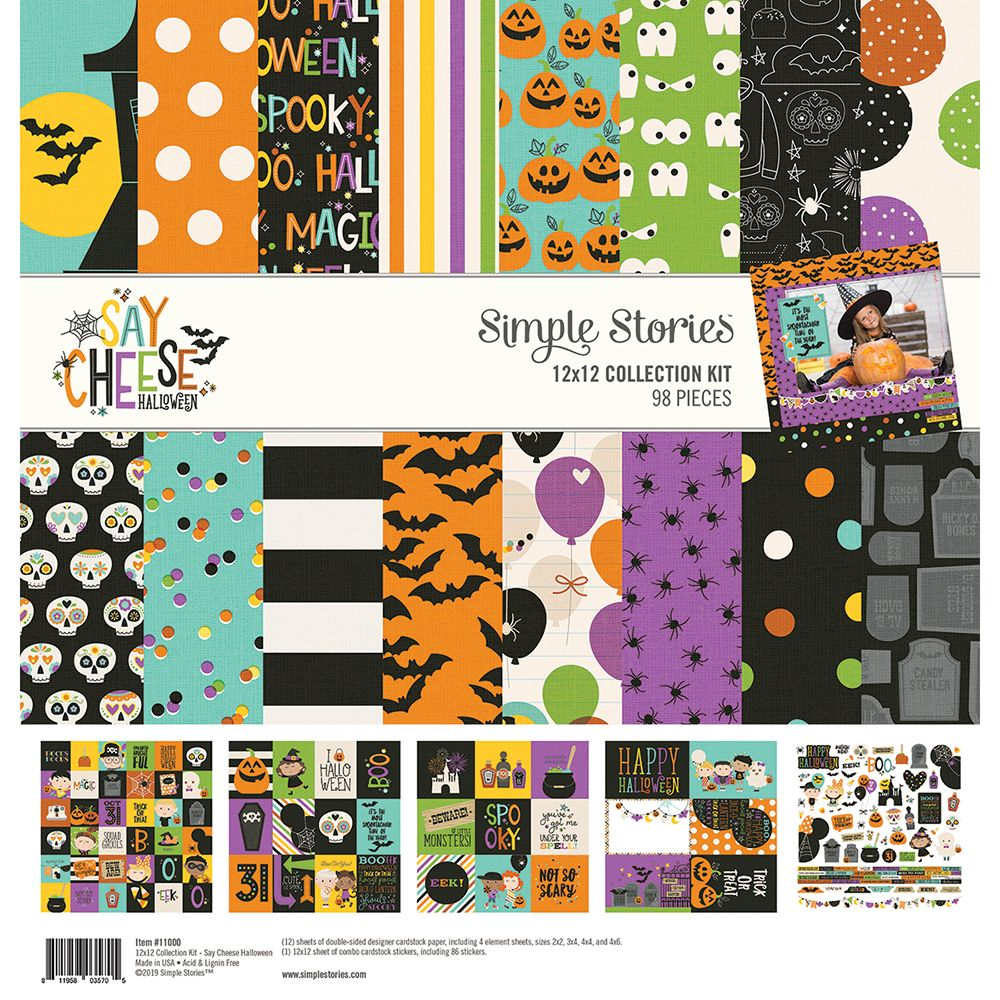 Simple Stories Say Cheese II Collection 12 X 12 Paper Kit