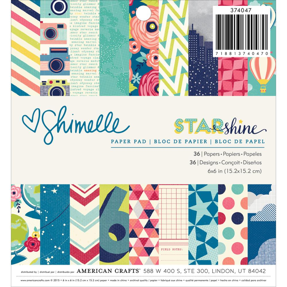 American Crafts Star Shimelle Paper Pad