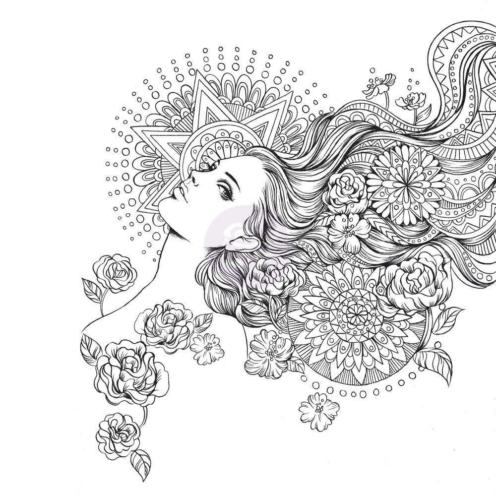 Prima Marketing Prima Princess Stamp-Giselle