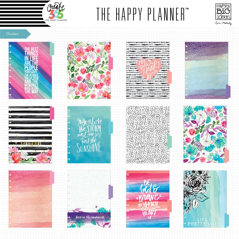 Create 365 Classic Happy Planner Box Kit Best Year