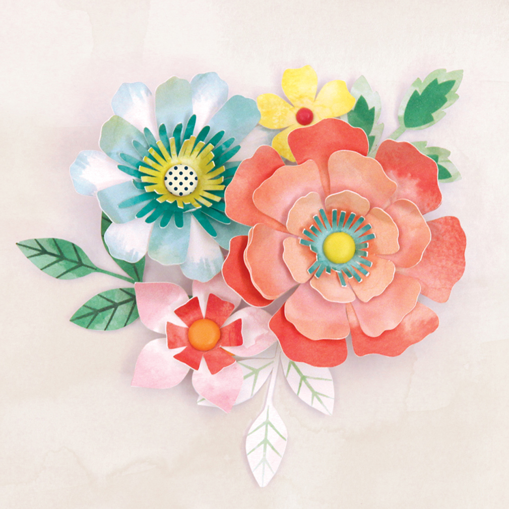 Paper Flower Kit Geccetackletarts