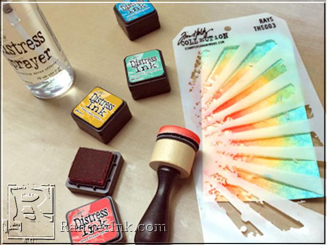 tim holtz distress ink mini kit 13 by ranger for scrapbooks cards crafting. Black Bedroom Furniture Sets. Home Design Ideas