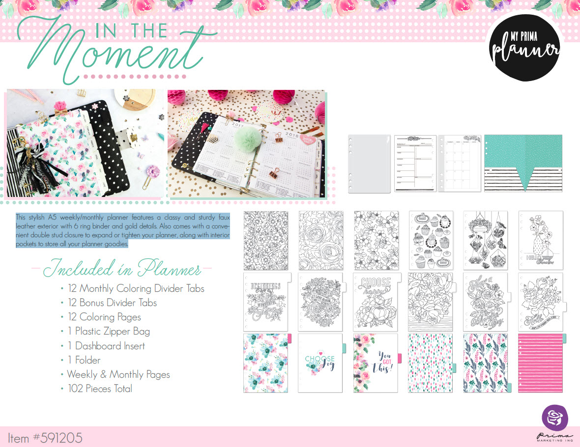 weekly and monthly planners