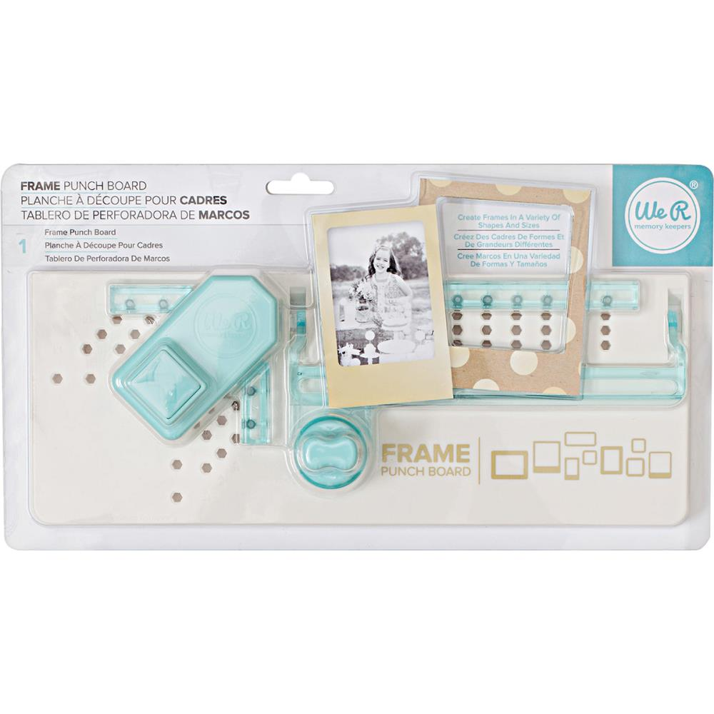 Frame Punch Board By We R Memory Keepers For Scrapbooks