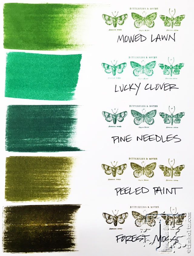 Green Twisted Citron Distress Ink Marker Tim Holtz