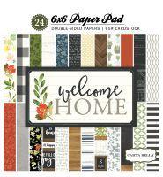 Carta Bella Welcome Home 6x6 Paper Pad