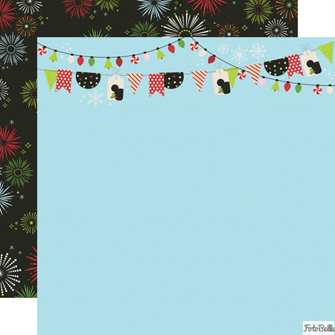 Black us:one size Simple Stories SAY CHEESE XMAS COLL 12X12 KIT Green,blue Red