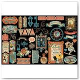 4502313-Come-One,-Come-All-ephem-assort-cutout