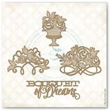 Bouquet of Dreams Chipboard