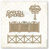 Garden Memoires Chipboard