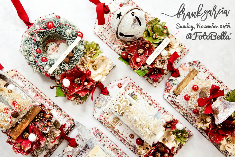 Christmas In The Country 2019 Frank Garcia Christmas In The Country 2019 Tag Class Kit by Prima
